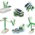 6-i-1 solar robot – pris DKK 149,-
