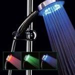 Lysende brusehoved LED – pris DKK 179,-