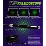 Laser Kaleidoskop – pris DKK 599,-