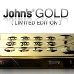 Johns' Phone gold limited edition – pris U$D 99,-