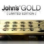 Johns' Phone gold limited edition – pris U$D 99,-