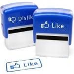 Facebook stempler – pris DKK 129,-