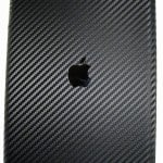 iPad med carbon skin