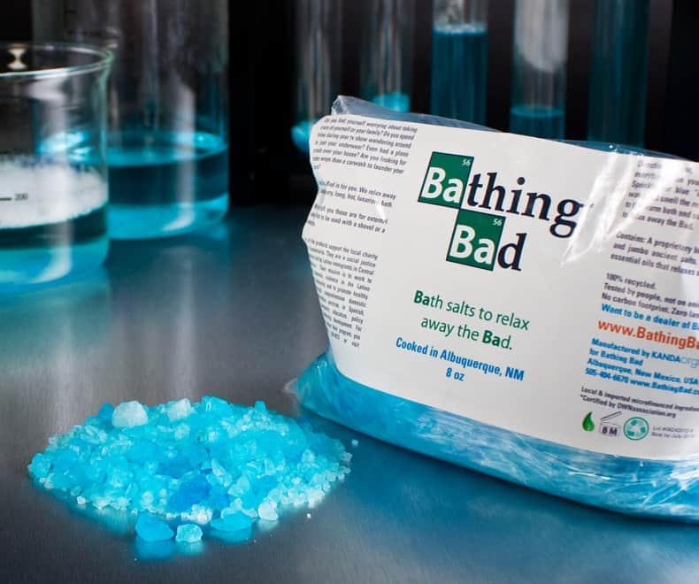 Bathing Bad badesalt – pris DKK 149,-