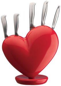 hjerteknivblok