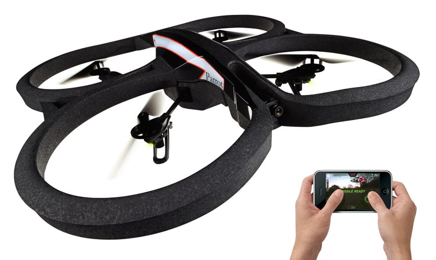 Parrot AR Drone 2.0 – TILBUD pris DKK 2.550,-