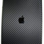 iPad med carbon skin