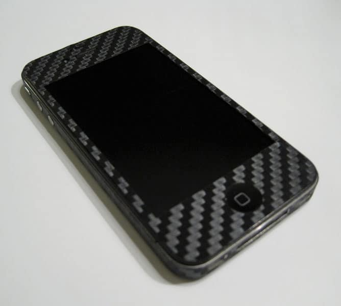 iPhone med tezzo skin