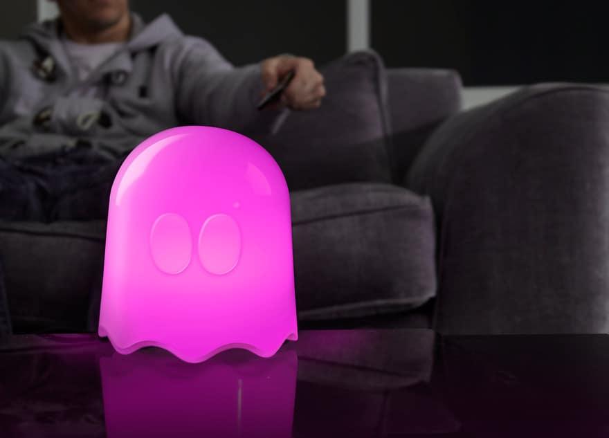 PacMan lampe – pris DKK 349,-