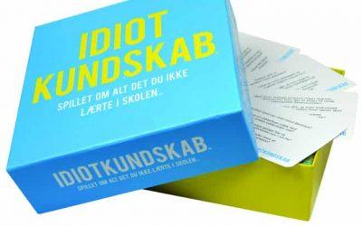 Idiotkundskab quiz spil – pris DKK 169,-
