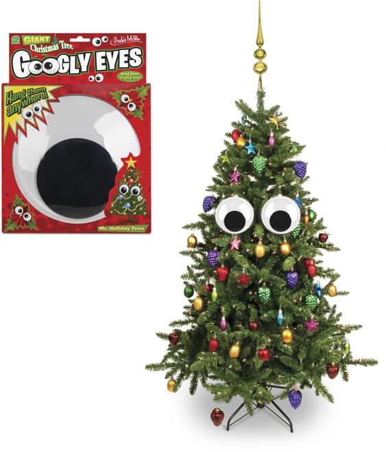 Øjne til dit juletræ – pris DKK 109,-