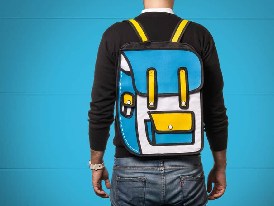 2D-taske, rygsæk, skuldertaske, dokumentmappe – pris DKK 169,-