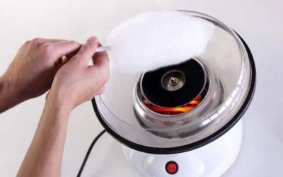 Tilbud på Candyfloss Maskine – pris DKK 219,-