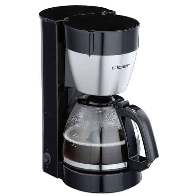 Cloer Kaffemaskine 10 kopper Sort