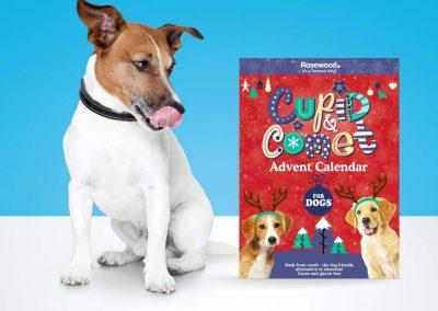 Cupid & Comet Julekalender Hund