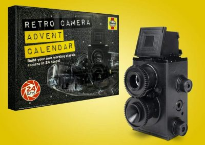 Haynes DIY Retro Camera Julekalender