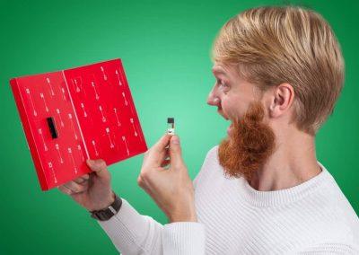 Julekalender med skægolie