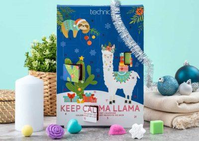 Keep Calma Llama Spa-Julekalender